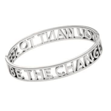 Ingnell Jewellery – Maria Bangle armband, silver