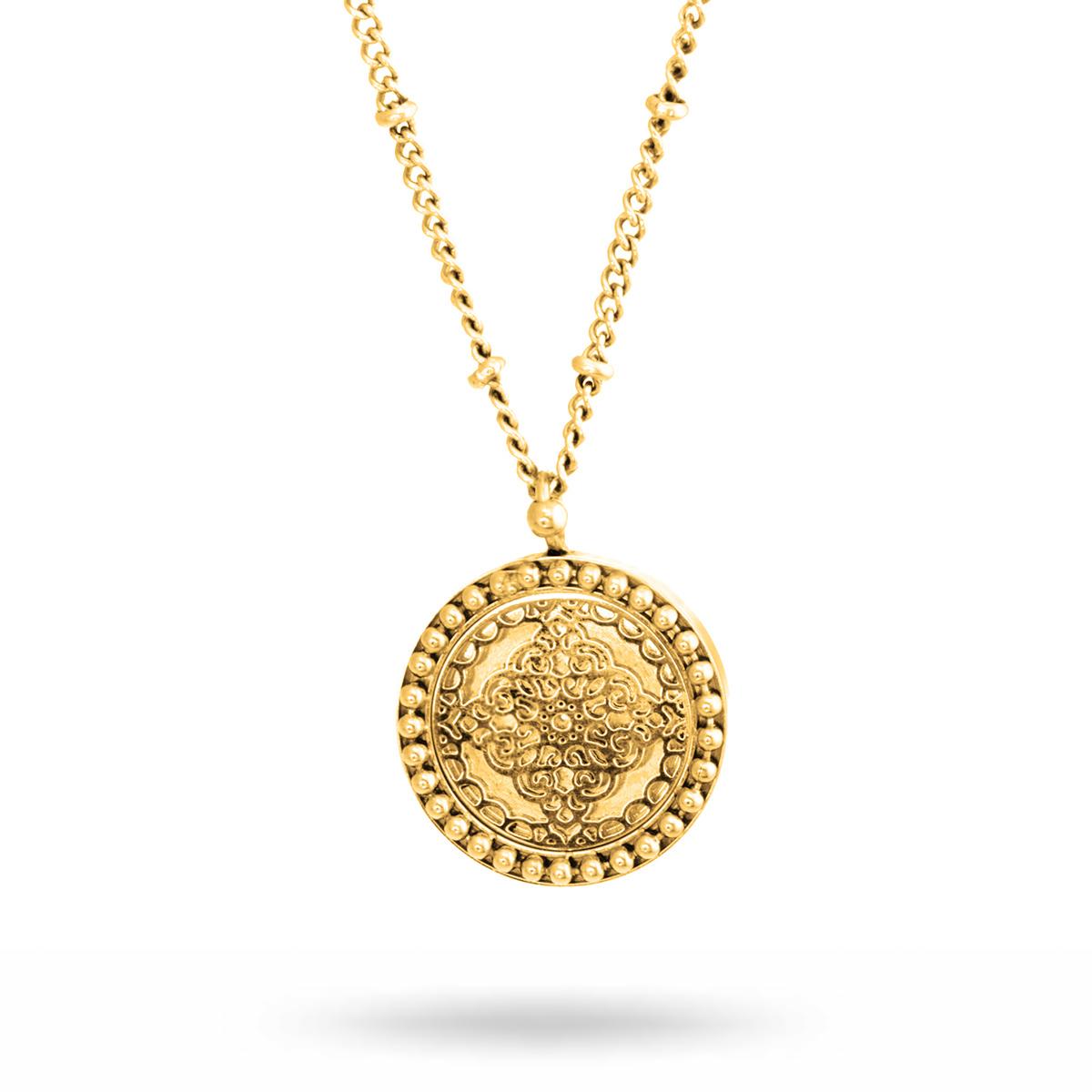 Steffie-Coin-Necklace-gold