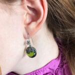 green-earring-yvone-christa