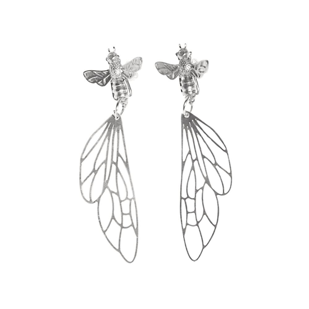 silverbee_earrings_pendulum_7152