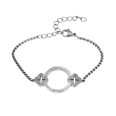 Ingnell Jewellery – Saga Armband, silver