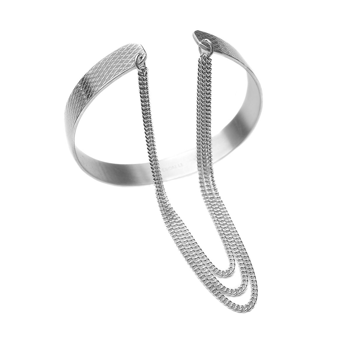 Wire-chain-cuff-small
