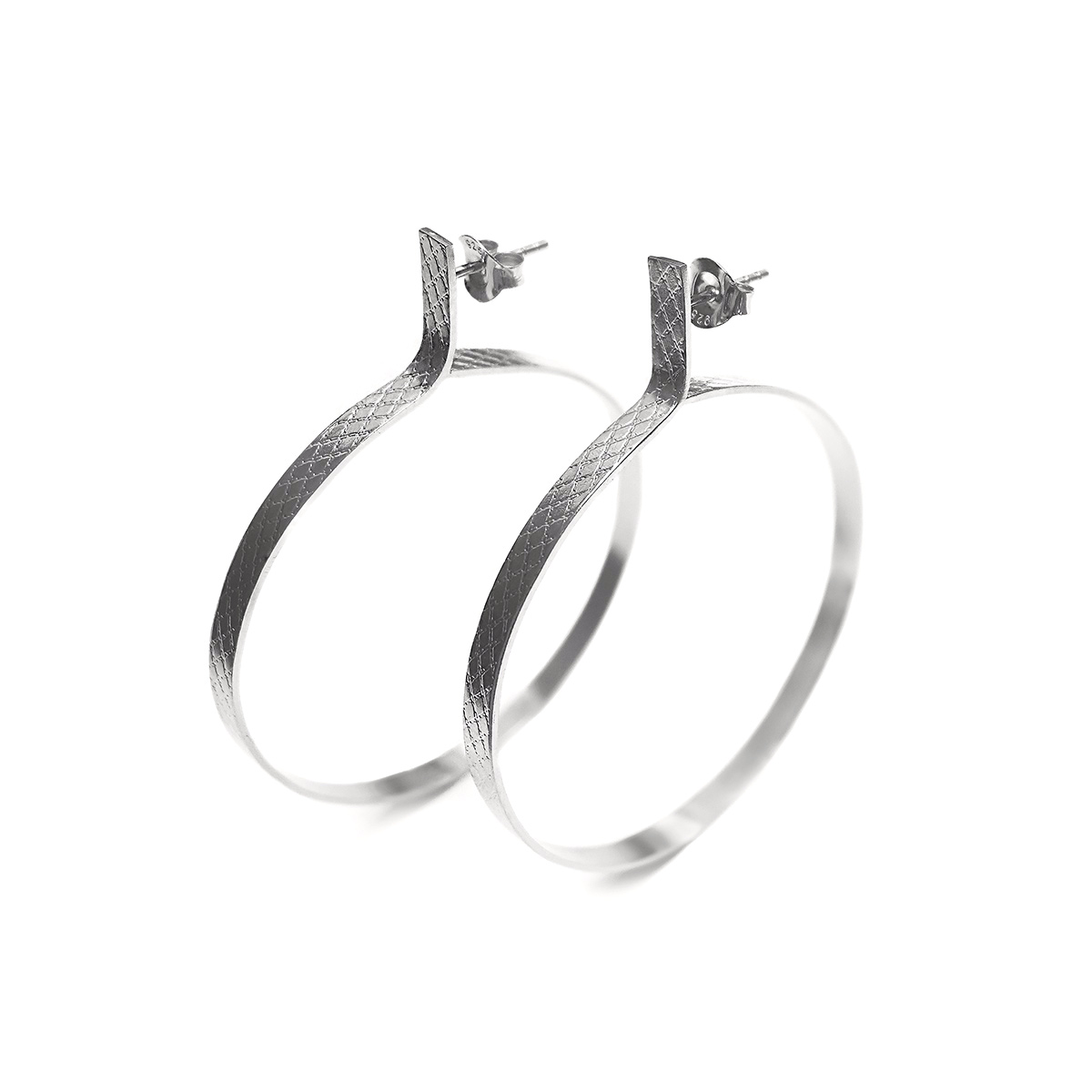 Wire-circle-earrings