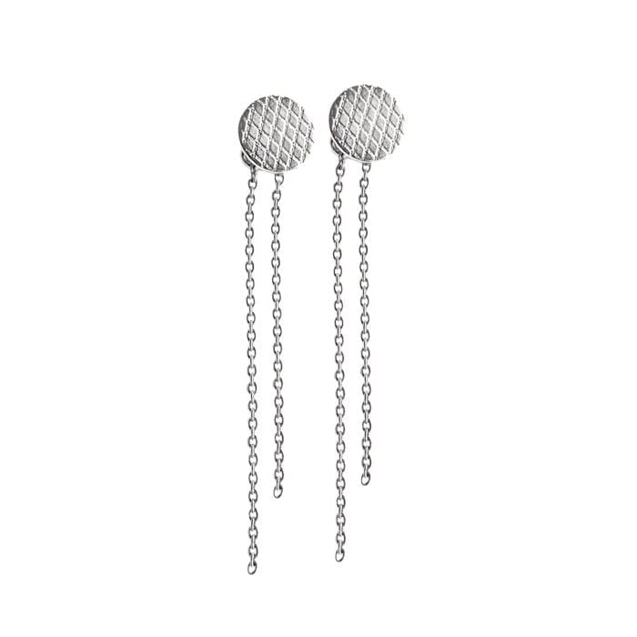 Wire-round-earrings