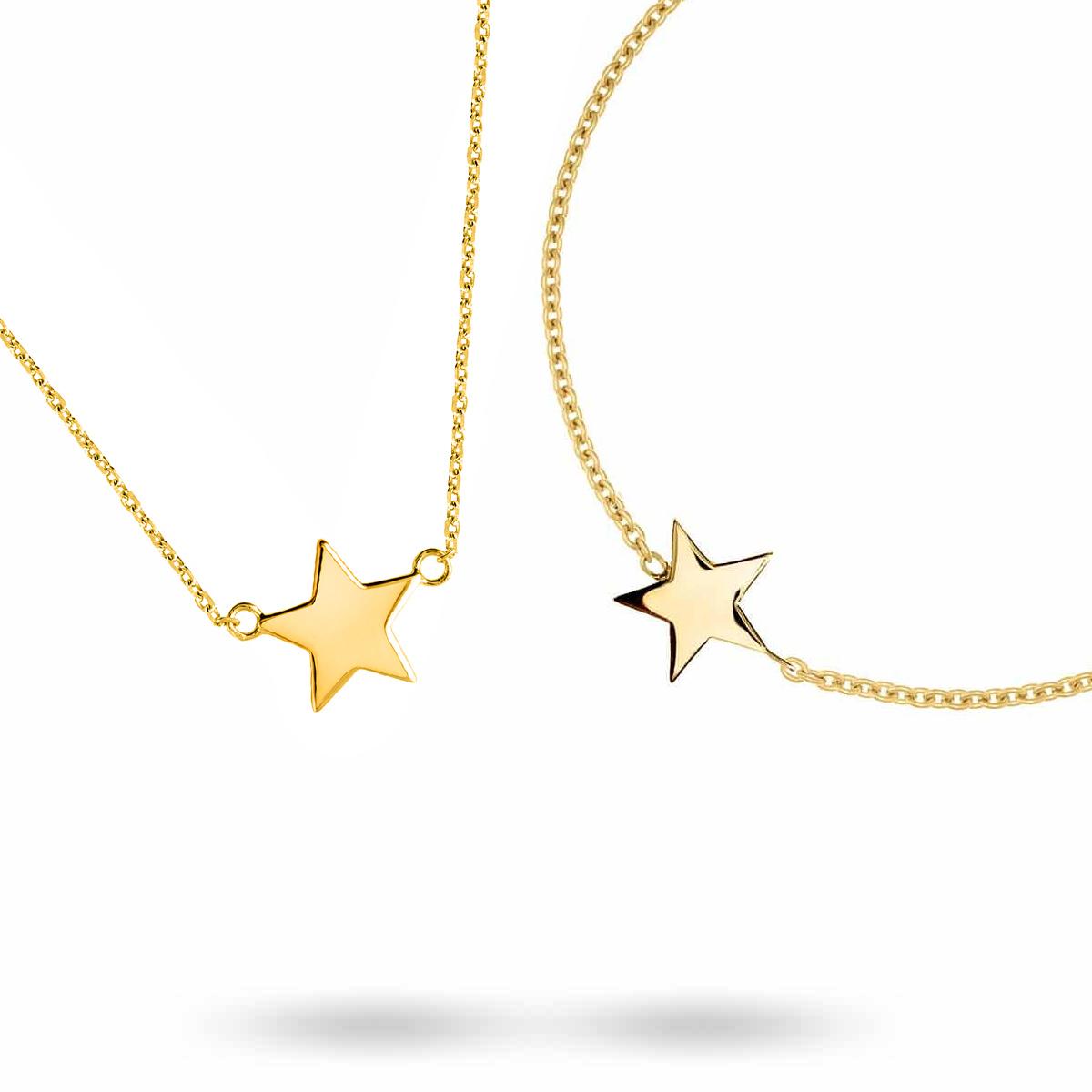 star-gold-smyckeset