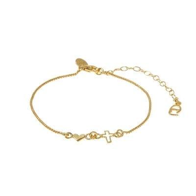 CU Jewellery – Trust armband, guld