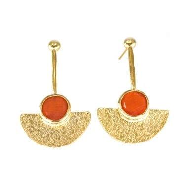 Seven/East – Athena Örhängen, Orange