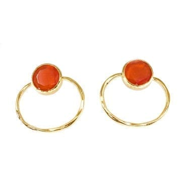 Seven/East – Afrodite Örhängen, Orange