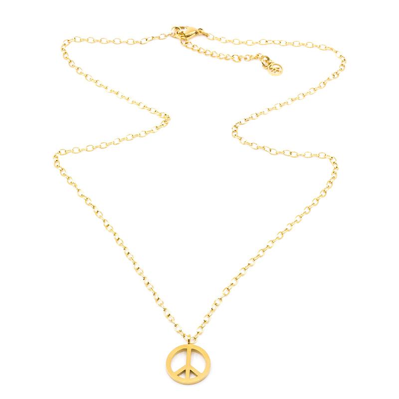 small-peace-halsband-guld