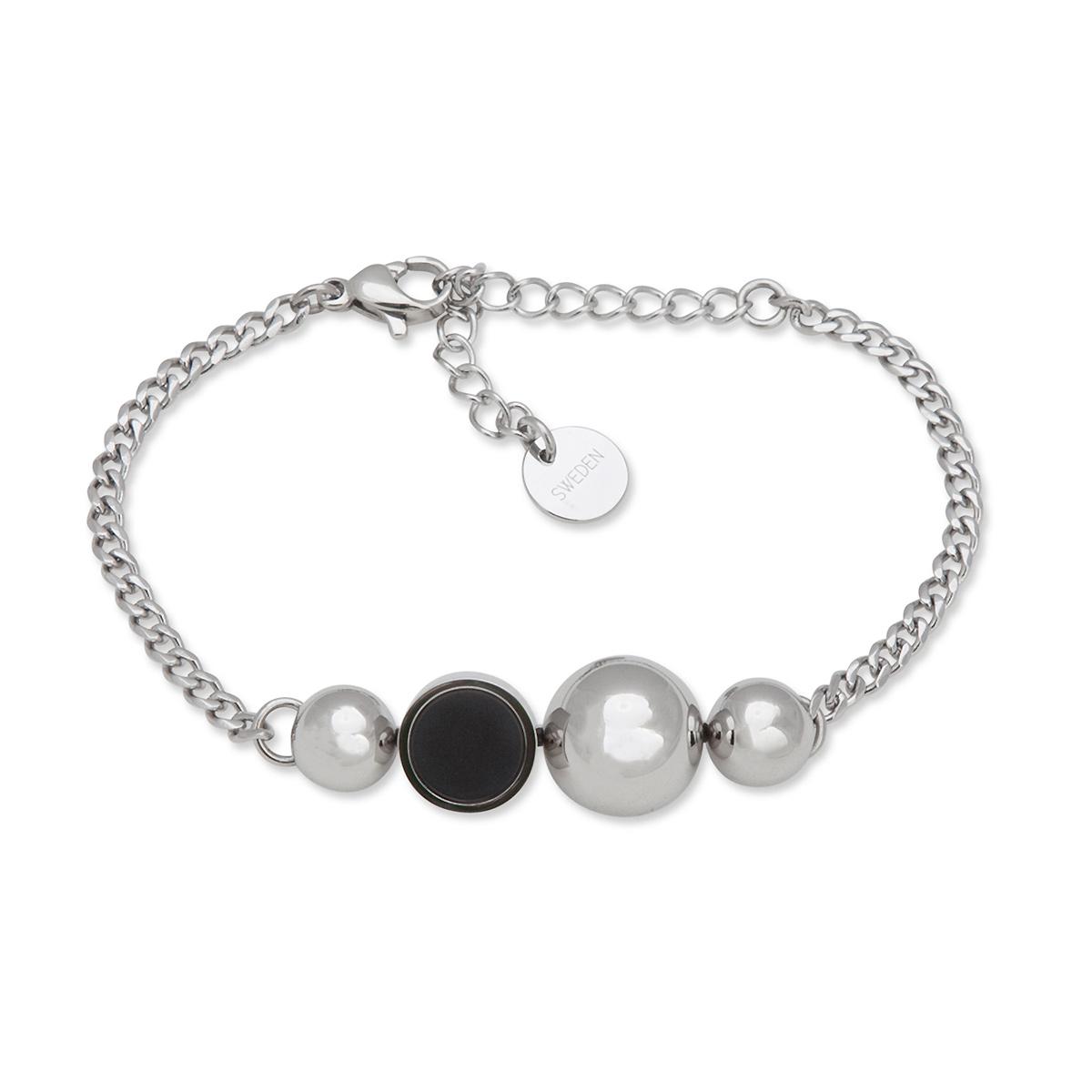 Sägen – Solar Armband, silver