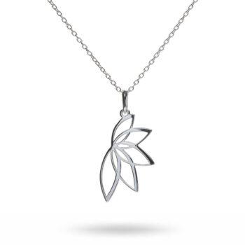 Anna & Deià – Lotus Armband, silver