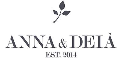 Anna & Deià – Lotus large örhängen, silver