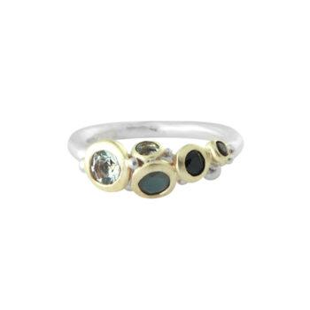 Lotta Jewellery – Cluster Ring, silver