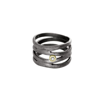 Lotta Jewellery – Birch Ring, silver