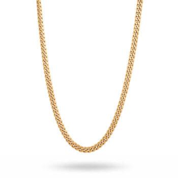 By Billgren –Halsband pansarlänk, guld