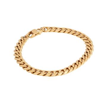 By Billgren –Armband pansarlänk, guld