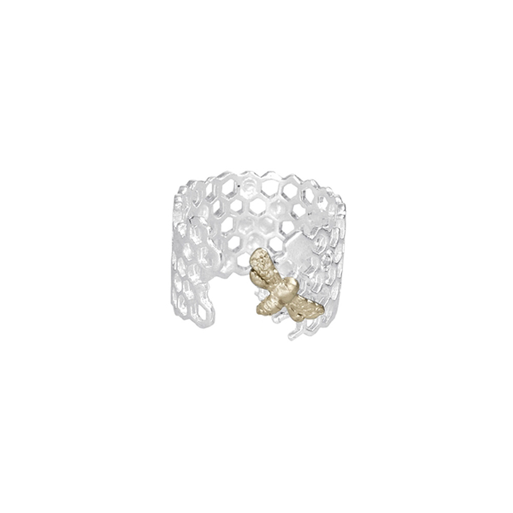 bee-ring-silver