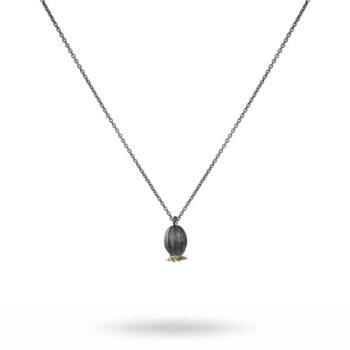 Lotta Jewellery – Poppy Långt Halsband, silver