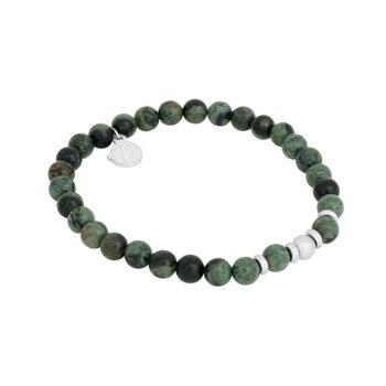 By Billgren –Beadsarmband Galaxy, grönt