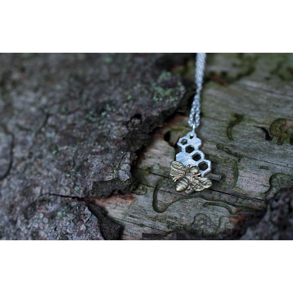 honey-bee-bronze-necklace