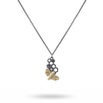 Lotta Jewellery – Honey Sweet Halsband, brons