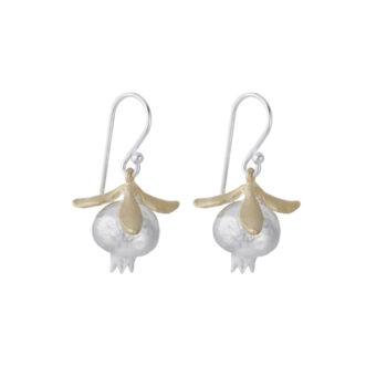Lotta Jewellery – Pomegranate Örhängen, silver