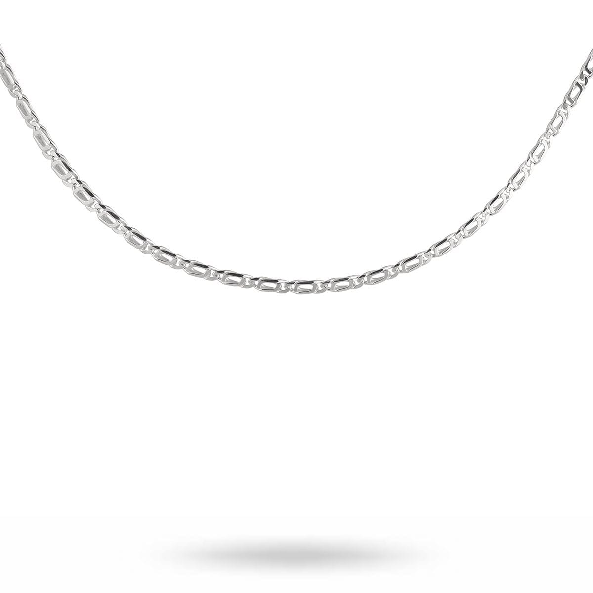 victory-plain-chain-halsband-silver