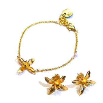 Pendulum – Anemone Set, guld