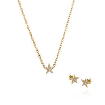 Ingnell Jewellery – Stella Set, guld