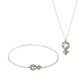 Baumgarten Di Marco – Woman's Set, silver