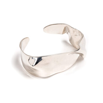 Cornelia Webb - Folded Cuff S, silver