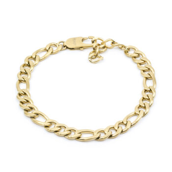 Seven/East – Figaro Chain halsband, stål