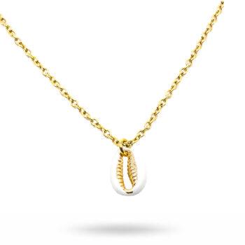 Seven/East - Sea Shell Halsband, Grönt