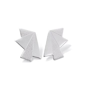 Tess Jordan Jewelry – Dawn Small Stud örhängen, silver