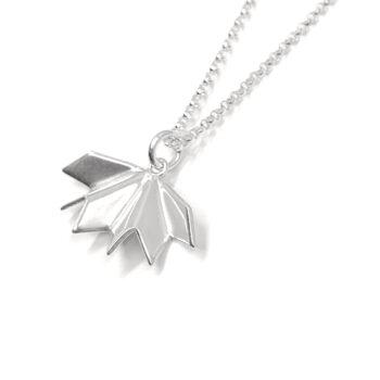 Tess Jordan Jewelry - Unfolded halsband, silver