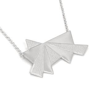 Tess Jordan Jewelry – Dawn halsband, silver