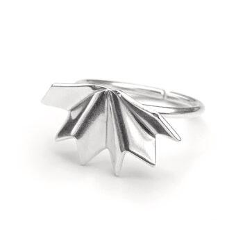 Tess Jordan Jewelry – Unfolded ring, silver