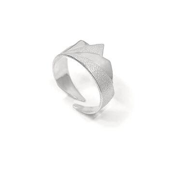 Tess Jordan Jewelry – Dawn ring, silver
