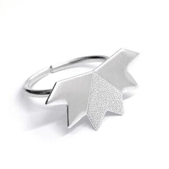 Tess Jordan Jewelry – Stardust ring, silver