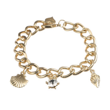 Gemini - Armband Aria, guld