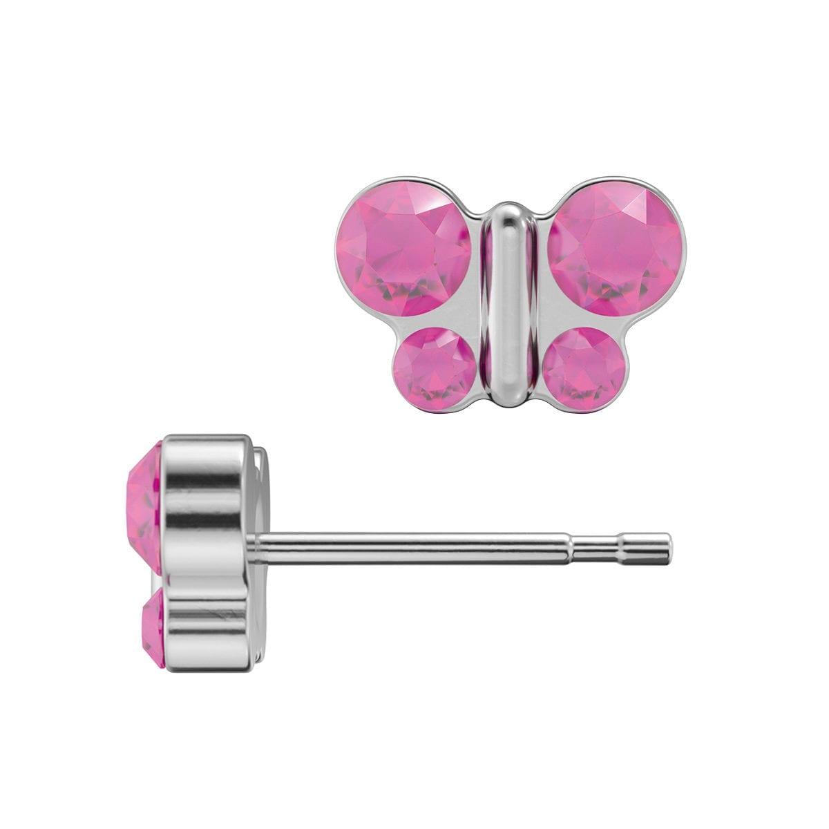 butterfly-earrings-rose