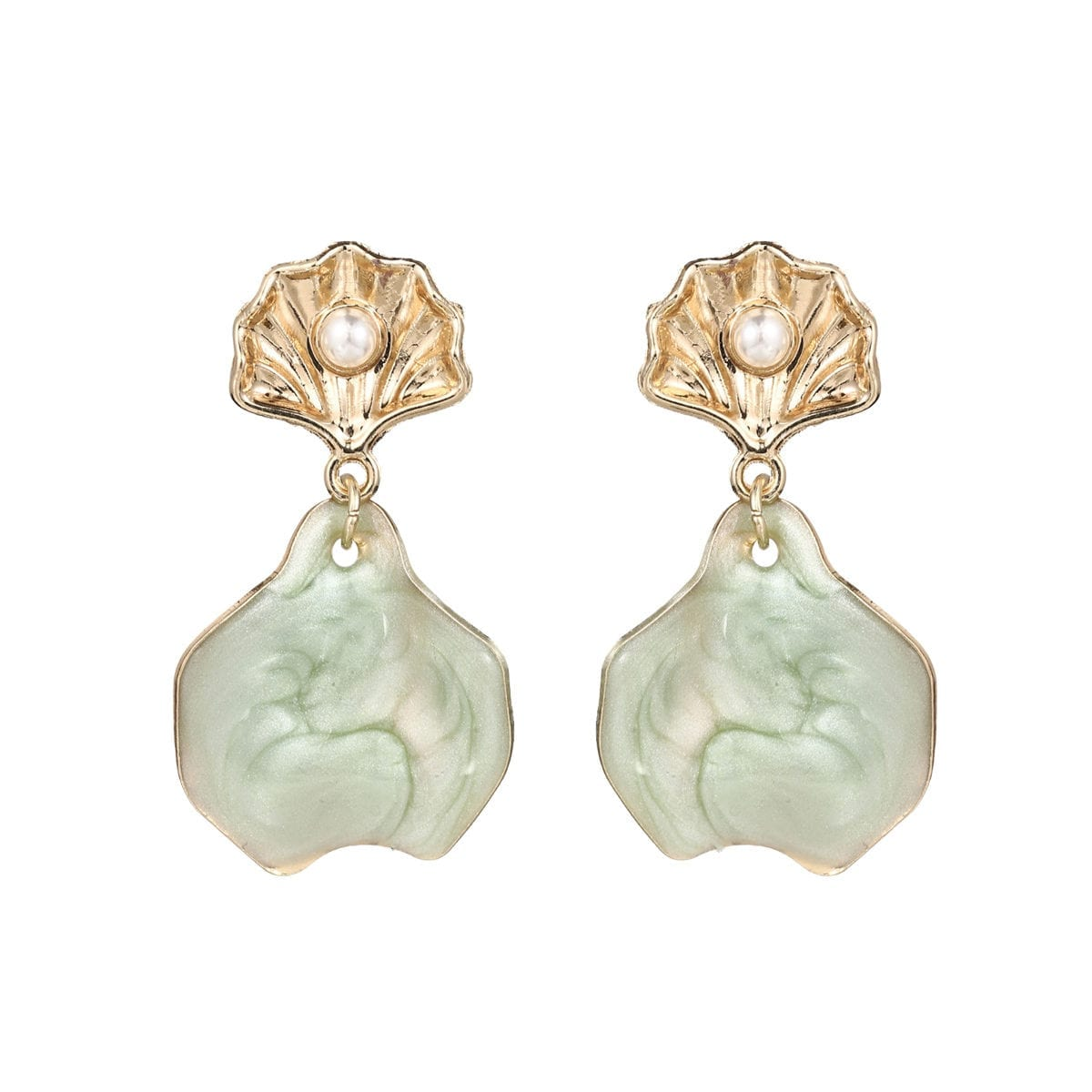 earring657-20-colour-green-pgr10