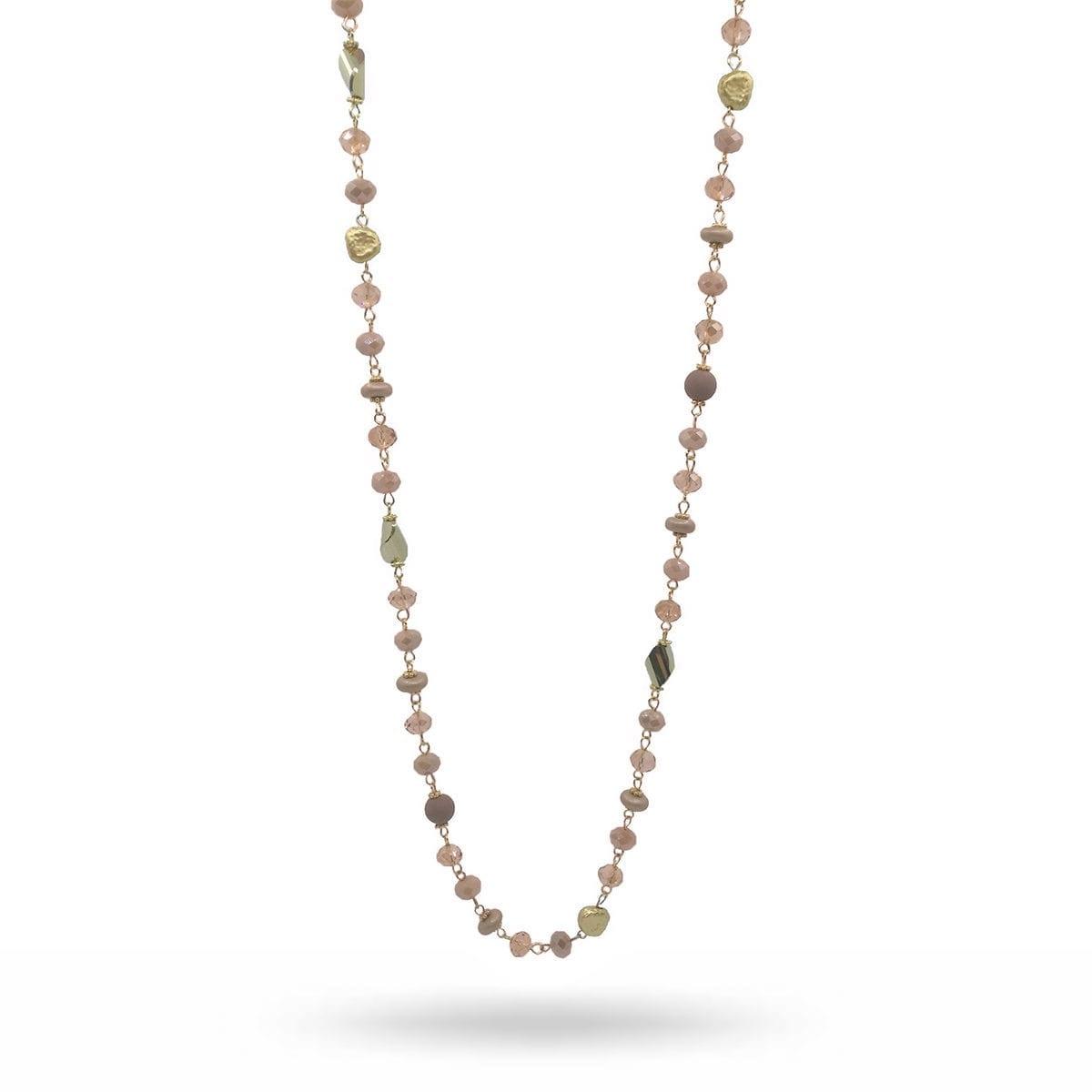 gold-vintage-rose-necklace-gemini