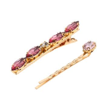 Gemini - Hårspänne Iris, rosa