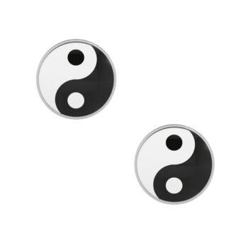 Studex - Sensitive Örhängen Novelty Yin Yang, Stål
