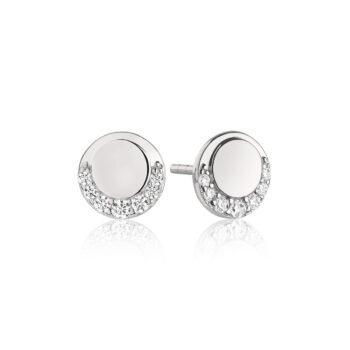 Sif Jakobs – Portofino Piccolo Örhängen, silver/kristall
