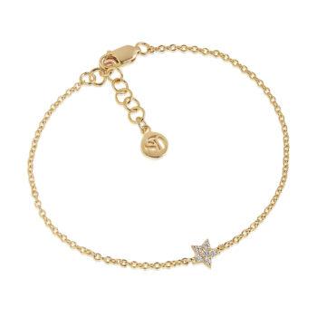 Sif Jakobs – Mira Armband, guld/kristall
