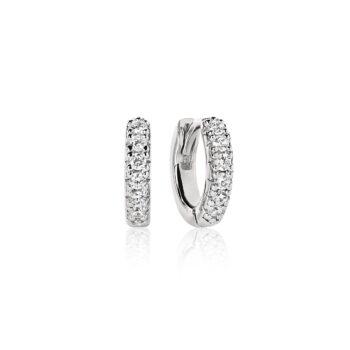 Sif Jakobs – Ellera Piccolo Örhängen, silver/kristall