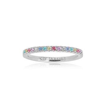 Sif Jakobs – Ellera Ring, silver/multi