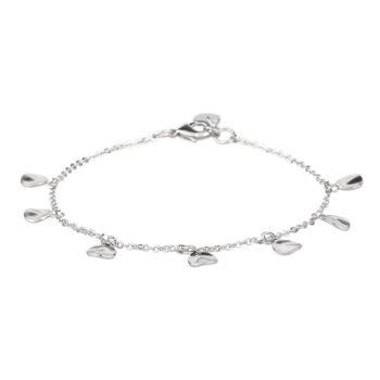 Snö of Sweden – Jain charm Armband, silver